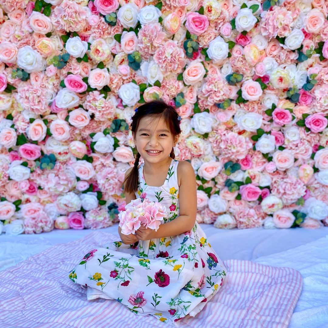Pink Flower Wall Rental in San DIego for Weddings, Birthdays, Gender Reveals, Baby Showers, and Special Occasions